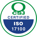 Certified ISO 17100